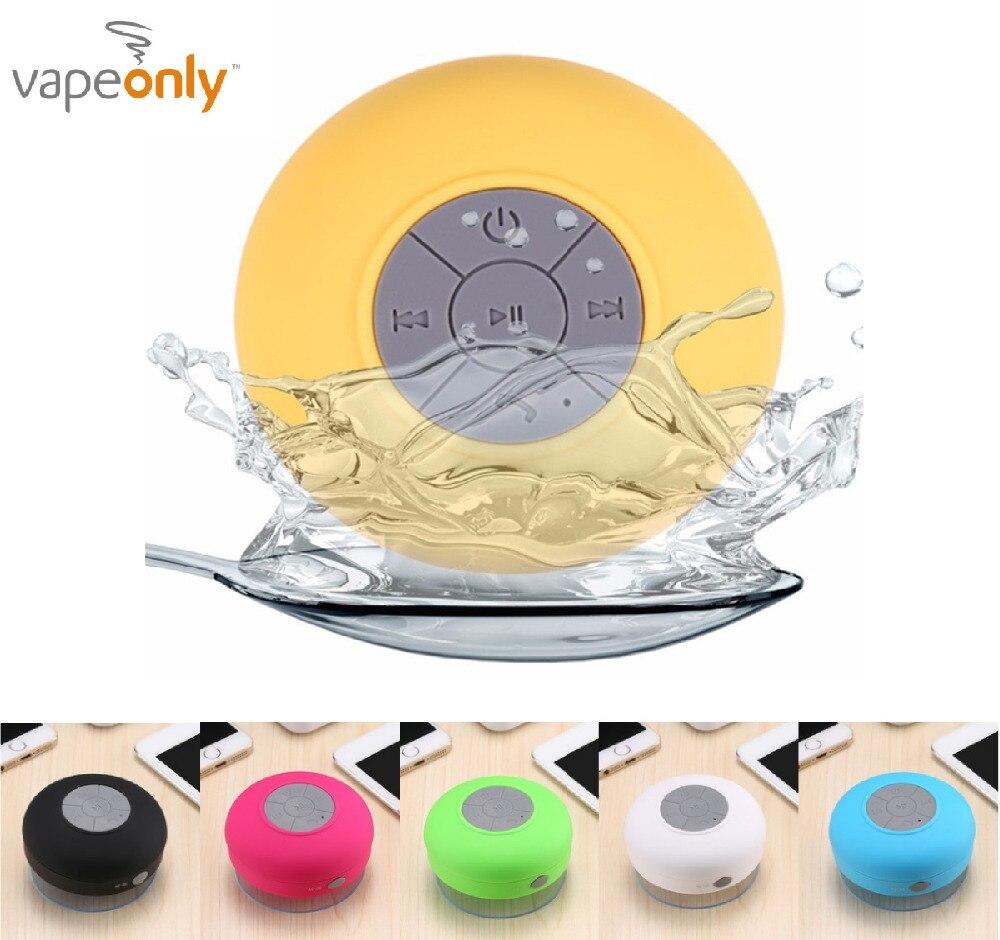 Vapeonly Altavoz Bluetooth inalámbrico portátil Mini ducha impermeable de altavoces w/altavoz manos libres para coche para teléfono MP3 reproductor de música