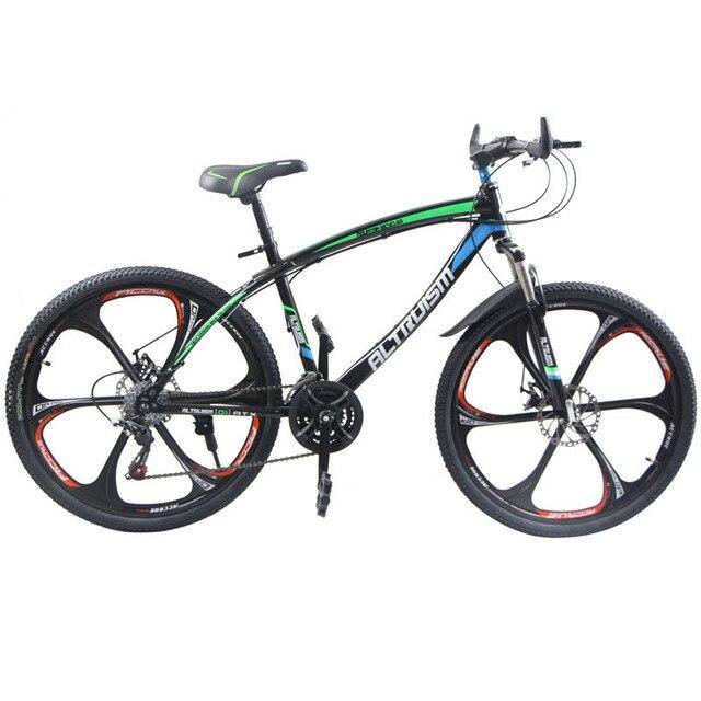 Altruism Q1 Дорожных Велосипедов для Мужчины Женщины Унисекс 21 Скорость 26 дюймов Горный Велосипед Алюминиевый Велосипед Шоссейные Горный Велосипед