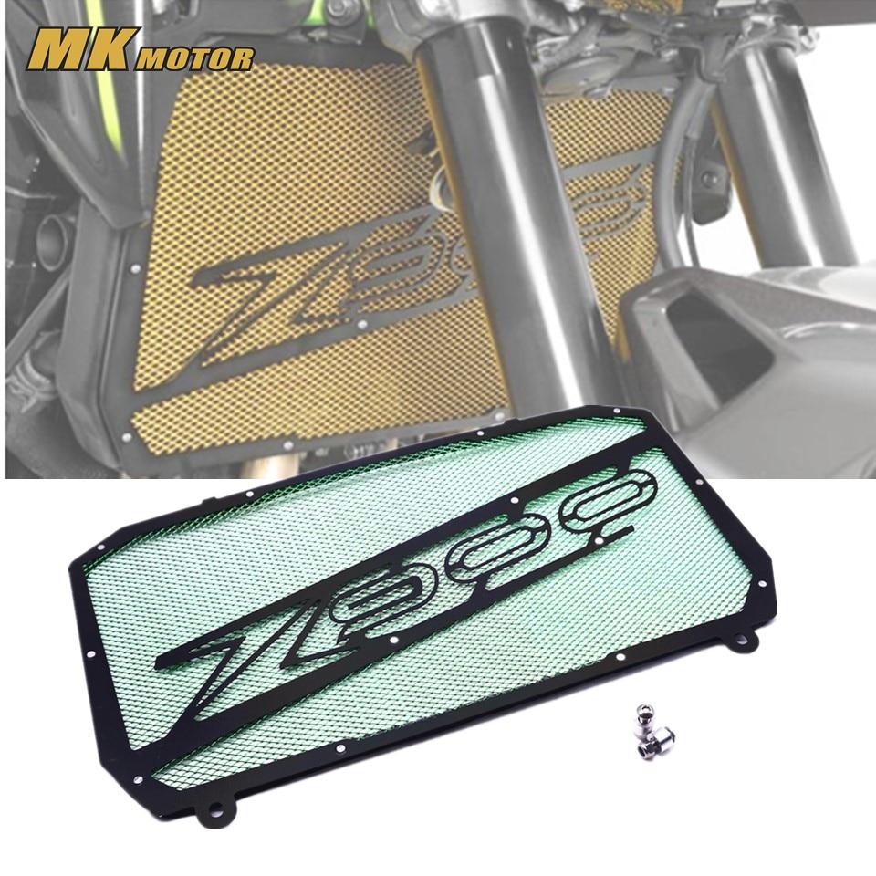 Z900 z900 решетка радиатора защитная решетка резервуар для воды гвардии для мотоциклов Z900 З 900 2017