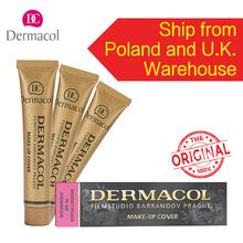 100% Original Dermacol base primer corrector concealer cream makeup base tatoo consealer face foundation contour palette 30g