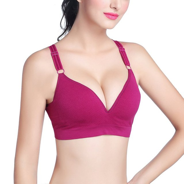 ad511ee07ae28 Womens Stretch Yoga Fitness Sports Bra Push Up Bras Running Crop Top Tank  Vest Bras Seamless Shapewear Padded