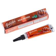 1 Stuk Indian Golecha Henna Pasta Body Art, mehndi Gekleurde Henna Moslim Nagellak Plakken Kegels Voor Islamitische Natuurlijke Nail Art
