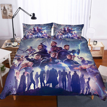 Marvel The Avengers 3d bedding set Duvet Covers Pillowcases Captain America iron Man comforter sets bedclothes bed linen