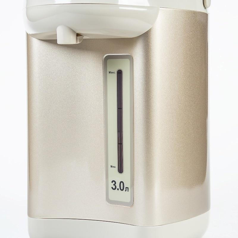 Термопот Galaxy GL 0608(Объем 3 л, мощность 900 Вт, 3 способа подачи воды, поддержание температуры, колба из нержавеющей стали
