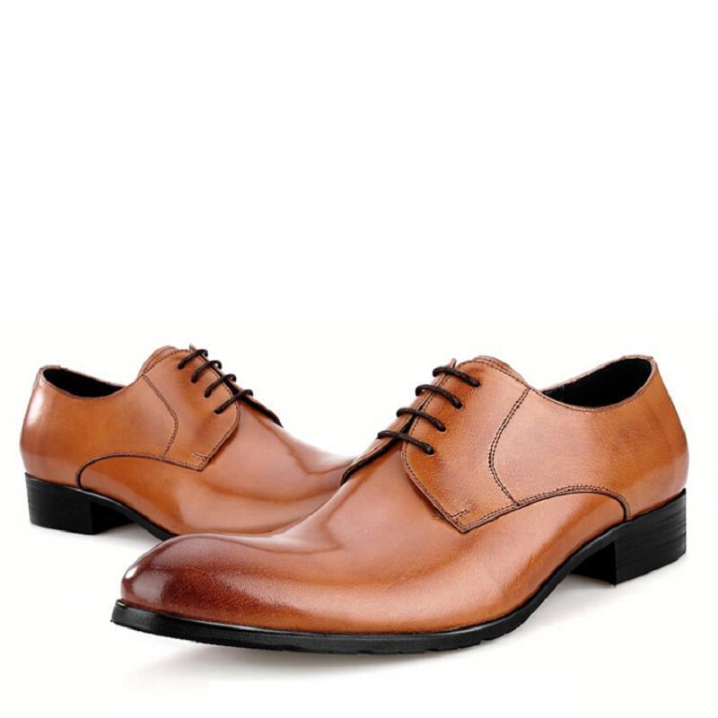 74e5bc170ab D affaires Northmarch Brun Main Hommes Formelle Chaussures Costume En Robe  Herren Mens Noir Derby Noir Cuir ...