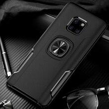 Shockproof Armor Case For Huawei Mate 20 Lite Finger Ring Ho