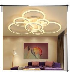 Alto brilho moderno led luzes de teto