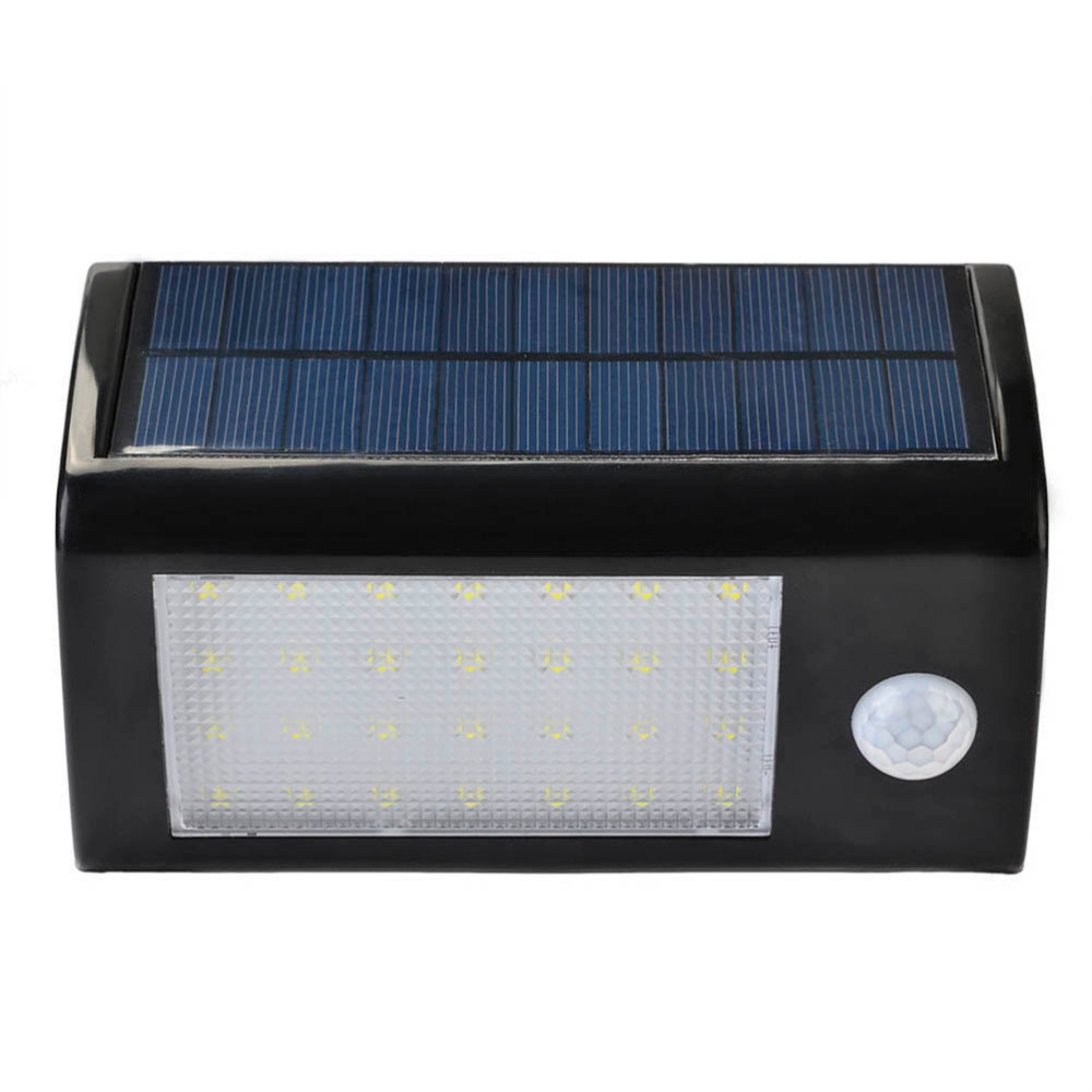 ФОТО 28 LEDs Solar Light Outdoor with Motion Sensor Solar Light 500 Lumens Waterproof For Garden Security