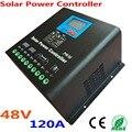 120A Солнечный контроллер PV Панель Контроллер заряда батареи 48В солнечная система для домашнего использования в помещении Новая солнечная с...