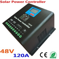 120A Solar Controller PV panel Battery Charge Controller 48V Solar System Home Indoor Use New PV Solar system