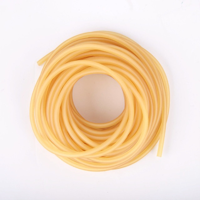 Cheap Diameter 2mm 3mm solid elastic fishing rope 10M fishing accessories good quality rubber line for fishing gear