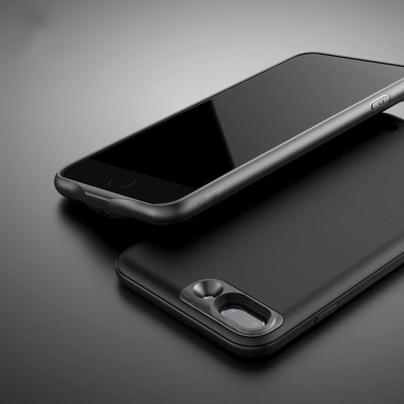 imágenes para Moda Caso Del Cargador de Batería Para el iphone 7 7 Plus 2500/3650 mAh Banco de la Energía del Caso Delgado Ultra Fino de la Cubierta Caja de Batería de Reserva externa