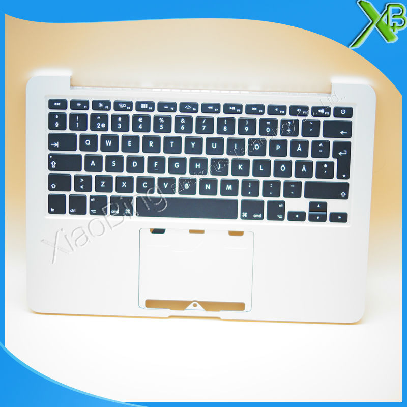 New TopCase with SE Swedish Sweden Keyboard for MacBook Pro Retina 13 3 A1502 2013 2014