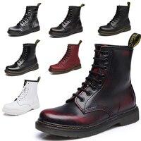2018 Dr Fashion Ankle Boots men's Winter / Autumn Motorcycle Martin Boots men Boots Snow men Boots Oxfords men Shoes size 34 44
