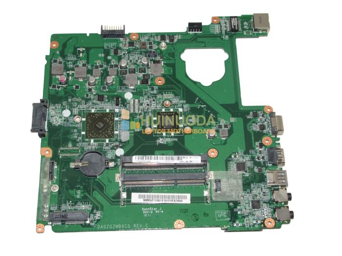 NOKOTION NBM0Z11001 NB.M0Z11.001 Main Board For Acer aspire E1-421 Laptop Motherboard DA0ZQZMB6C0 DDR3 nokotion for acer aspire m5 481 laptop motherboard nbm3w11002 da0z09mbah0 intel integrated hm77 ddr3