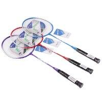67 23 3cm Normal Quality T JOINT Titanium Metal Badminton Racquet 1pcs Badminton Rackets For Kids