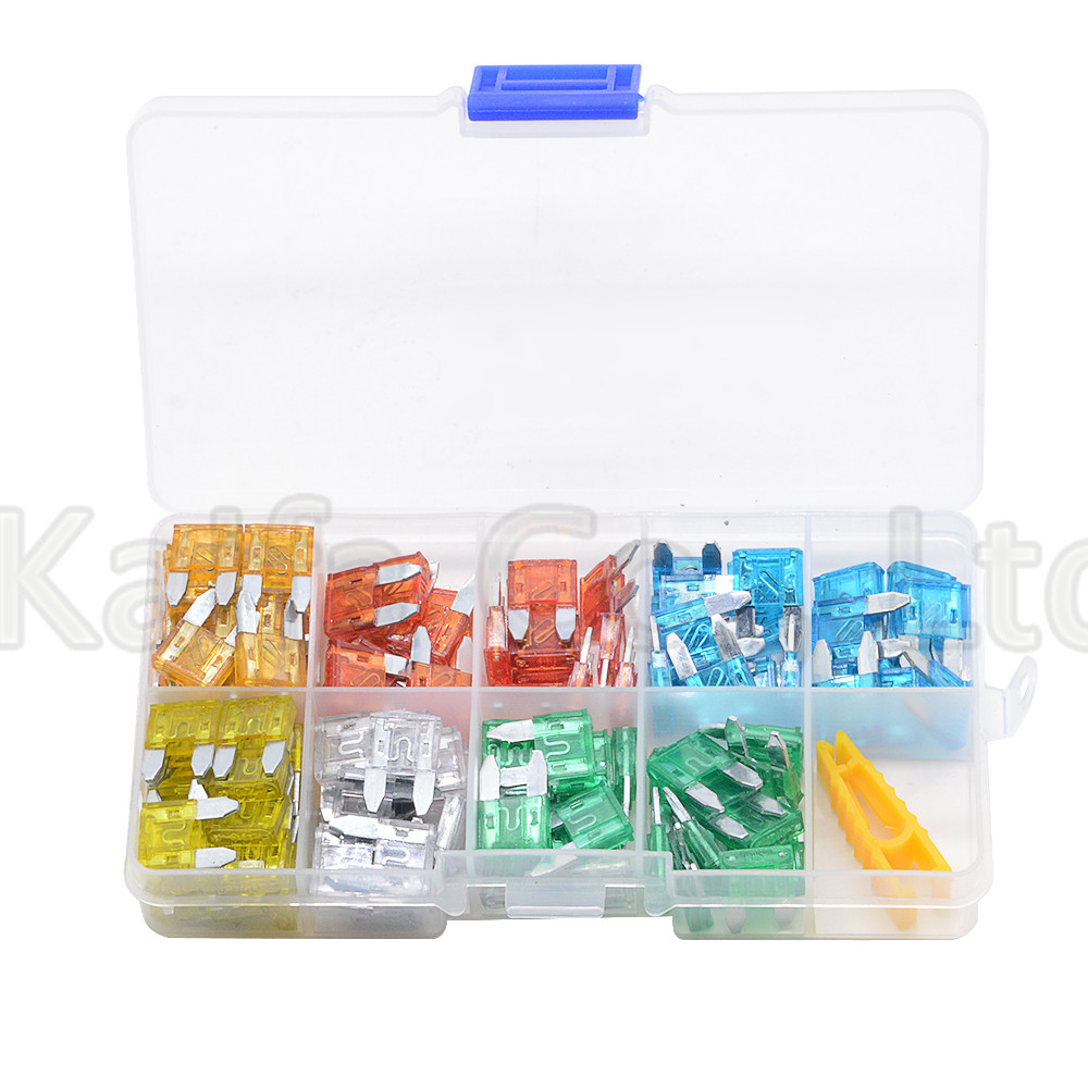new small 120pcs auto automotive car boat truck blade fuse box assortment 5a 10a 15a 20a 25a 30a in fuses from home improvement on aliexpress com alibaba  [ 1000 x 1000 Pixel ]