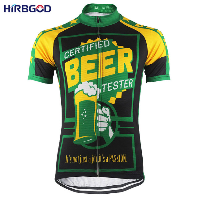 HIRBGOD Another Funny Men s Beer Cycling Jersey Short Sleeve Summer Mountain  Bike Shirt Clothing maillot ciclismo hombre-HK043 9c3392389