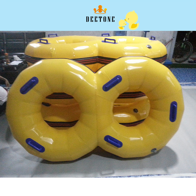 DEETONE Inflatable Life Buoy Float Ring Adult And Children Swimming Circle Pool Swimming Ring PVC Double Swimming Circle Rings new arrival inflatable unicorn giant pool float 275cm 108 inch swan summer swimming ring flamingo pool float toys for adults