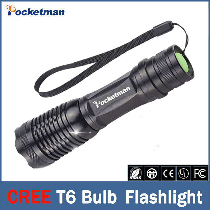 Flashlight CREE XM-L T6 LED 3800LM E17 Aluminum Torches Zoomable LED Flashlight Torch Lamp For 3XAAA or 18650 Battery stamford avr as480 discount automatic voltage regulator