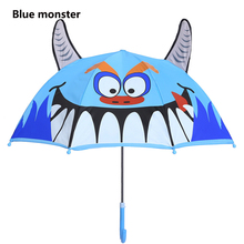 hot deal buy new little monsters cartoon patterns umbrellas kids boys girls umbrellla for children paraguas parasol fashion umbrellas-01