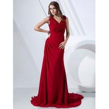 Formal Cowl Neck Dress