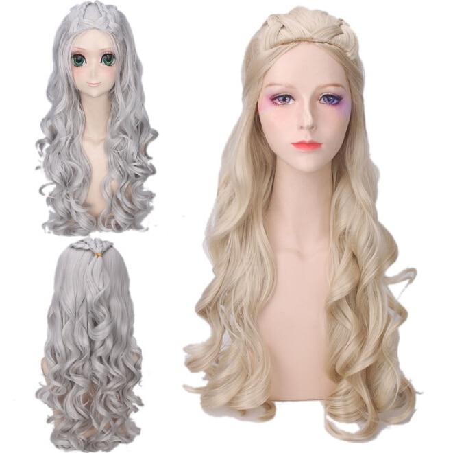 2017 Hot Movie Game of Thrones Säsong 7 Daenerys Targaryen Cosplay - Maskeradkläder och utklädnad