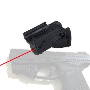 Ppt 5 мВт красный лазерный прицел, точка для Glock 19 23 22 17 21 37 31 20 34 35 37 38 пистолет винтовка страйкбольная охотничья ружье, для страйкбольной охоты