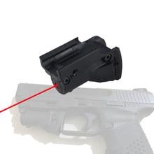 Ppt 5mw celownik z czerwonym laserem Dot dla Glock 19 23 22 17 21 37 31 20 34 35 37 38 pistolet karabin Airsoft polowanie OS20-0019