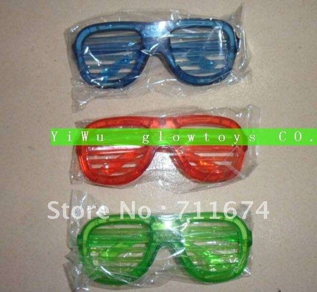 promotion retails  led shades shutter glasses wholesale free shipping