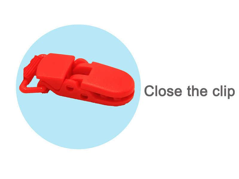 Клипсы для соски держатель соски цепи яркие бусины манекен Ниппель для клипа держатель пустышки держатель для маленьких детей