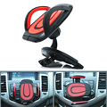 360 Degree Rotationg Car CD Dash Slot Cell Phone Stand Holder For Samsung S4 S5 S6 Edge iPhone Cars  CSL2017