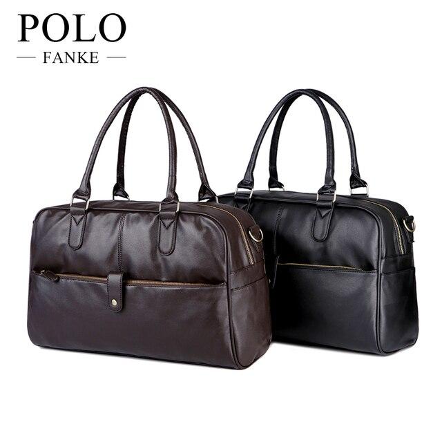 Men Travel Bags Pu Leather S Traveling Handbags Quality Man Duffle Large Capacity Luggage Bag