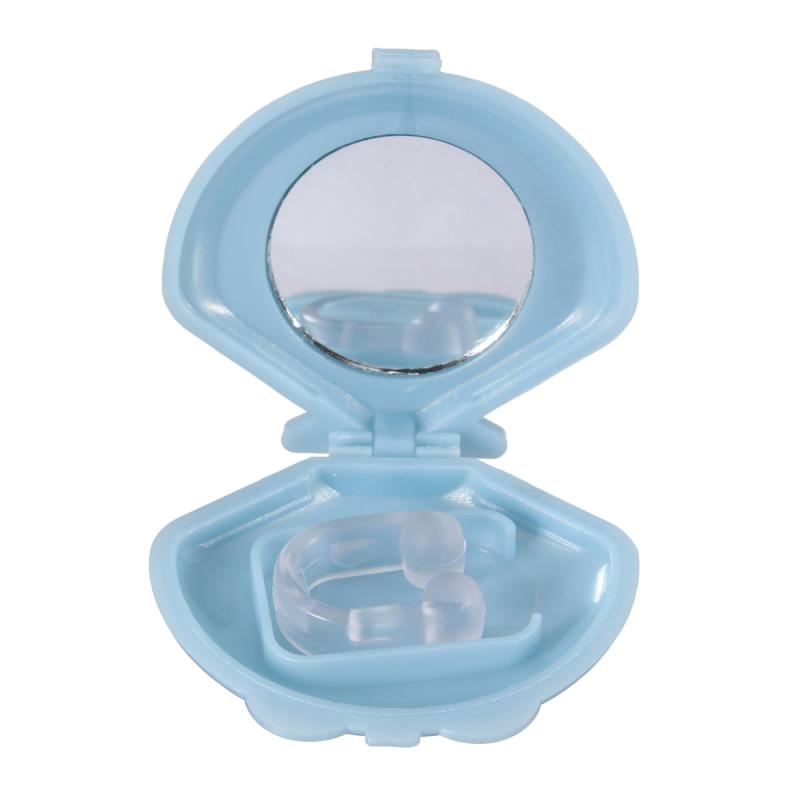 Anti Snore Sleep Nose Clip Clear Silicone Gel Anti Ronflement Snoring Stoper Silent Sleep Apnea Guard Help Aid Device With Case