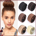 12 pieces Fake Hair Hairagami Bun Extension Updo Synthetic Hair Band Accessories Chignon Hairpiece Headwear Hairpin Styling Tool