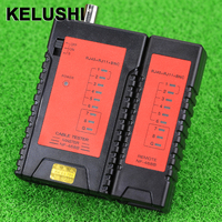 KELUSHI NF468B RJ45 RJ11 BNC Tester Network Cable Portable Tester Wire tracker tracer + With BNC Connector|kelushi|tracer|tracer cable -
