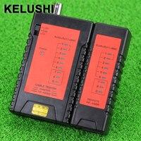 Kelushi nf468b rj45 rj11 bnc cabo de rede testador portátil rastreador fio tracer + com conector bnc