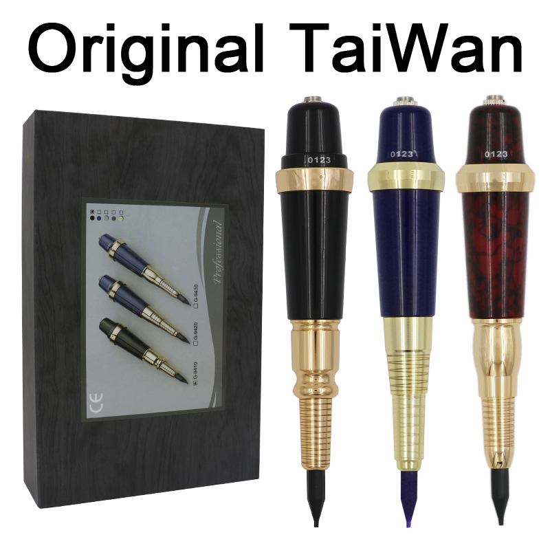 Taiwan profesional G-9430 ceja máquina de tatuaje para el maquillaje permanente básica cejas Forever maquillaje kit con tinta del tatuaje