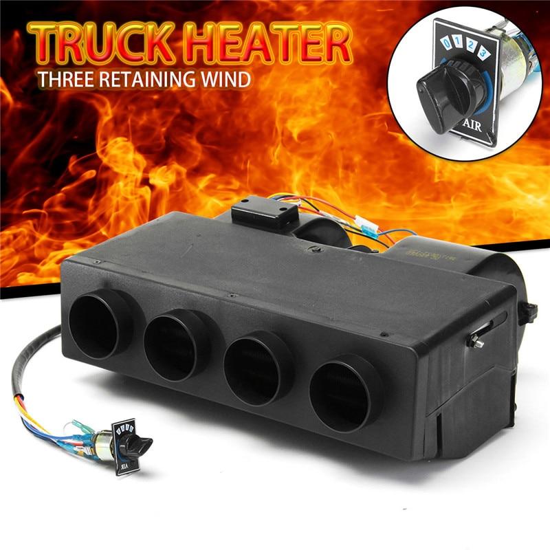 Éliminateur de brouillard de chauffage de Bus de camion de voiture 12 V sous le tableau de bord chauffant l'évaporateur de chauffage de la cabine A/C pour les camions