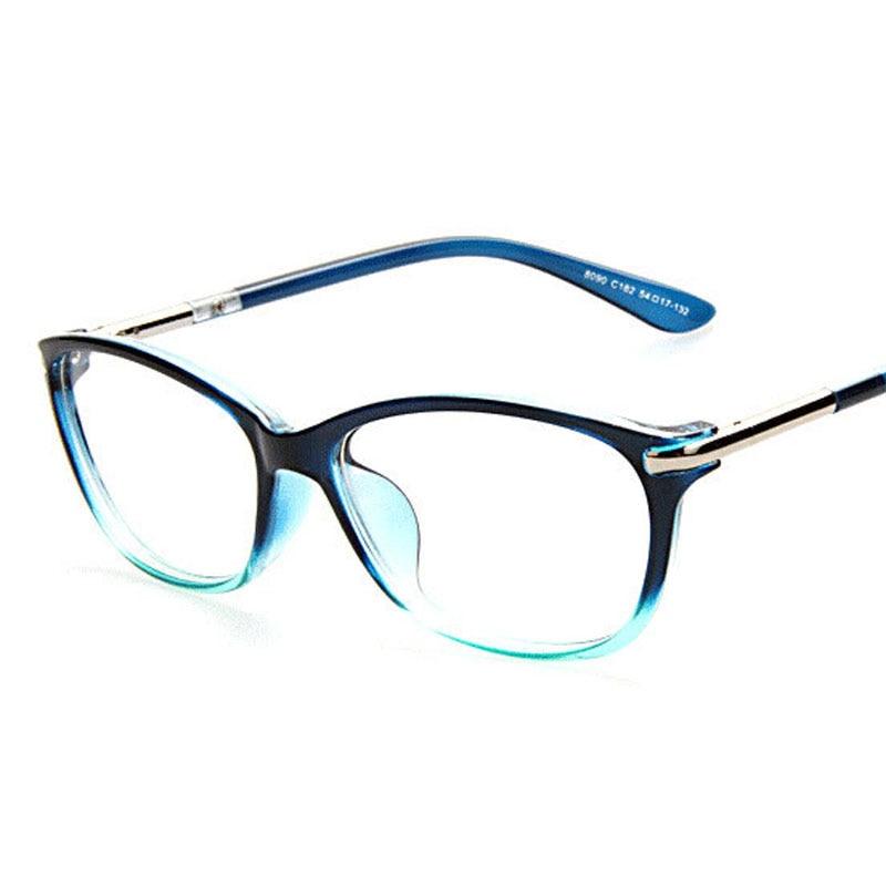 Schlanke Quadratische Brillen glasrahmen Frauen Männer Eyewear ...