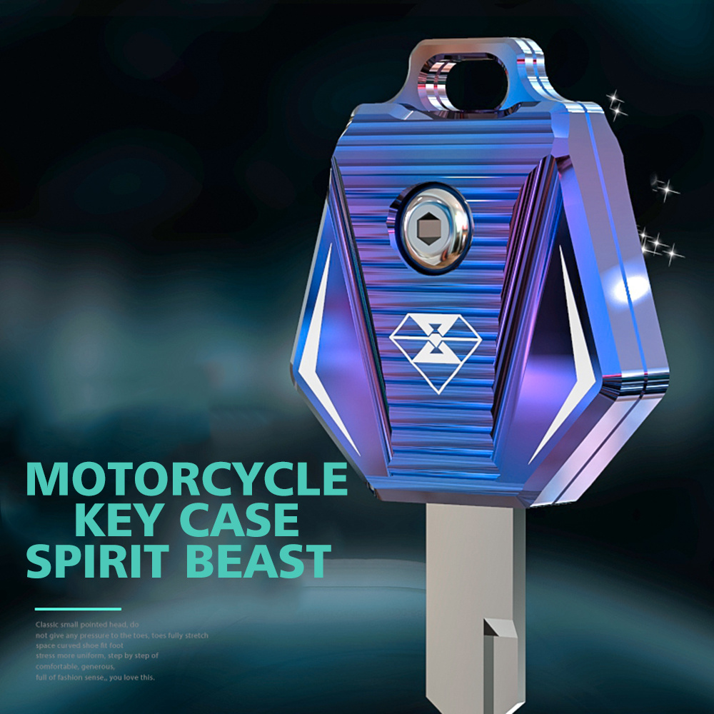 Spirit Beast CNC Aluminum Motorcycle Key Case Cover Motorbike For Suzuki GW250 EN125 EN150 GN125 GSX125 GSX150 GZ150 GR150 HJ125
