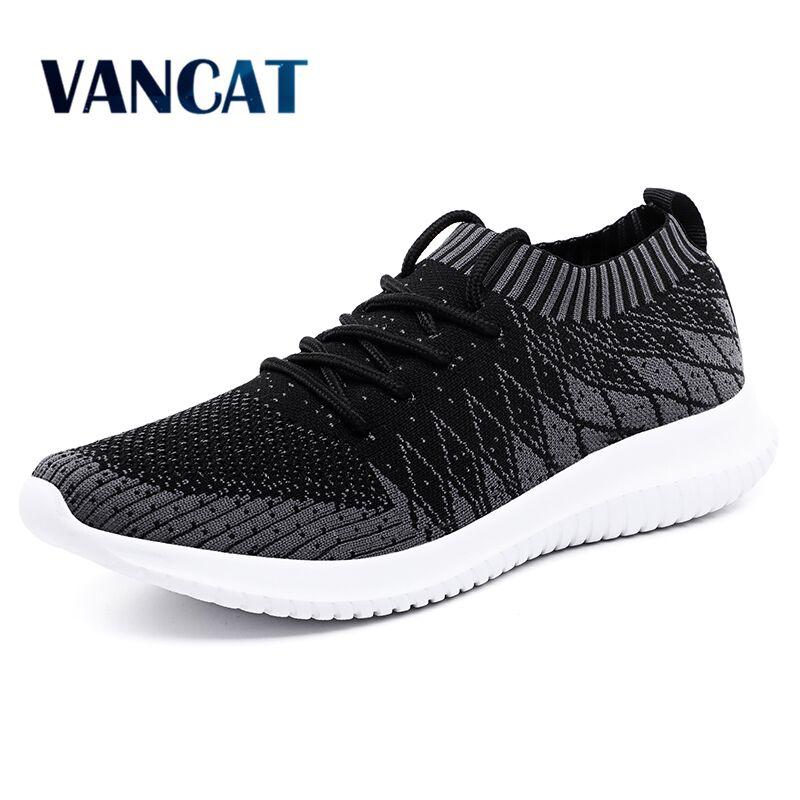 Homens Sapatos Casuais Sapatilhas Confortáveis 2019 Nova Primavera dos homens sapatos Respirável Leves Sapatos Zapatos Feminino Big Size 39- 48