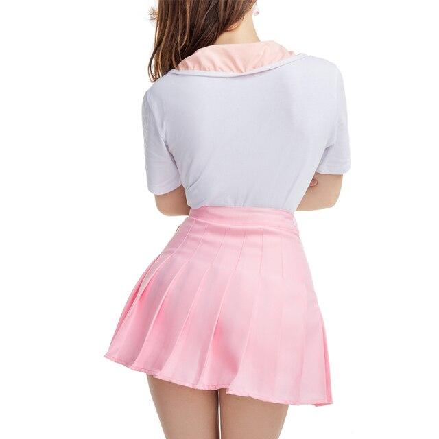 Ddlg-robe de bébé adulte et couche-culotte   Barboteuse en coton, avec entrejambe et jupe plissée, pour amoureux des couches, barboteuse + jupe plissée