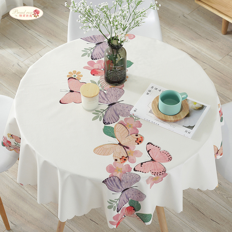 Proud Rose Modern Waterproof Table Cloth PVC Oilproof Round Tablecloths Rectangular Table Cover Plastic Table Cloth Custom & Aliexpress.com : Buy Proud Rose Modern Waterproof Table Cloth PVC ...