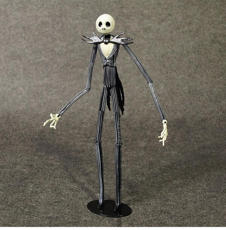 Figure film Movie Children gift collection 7 inch model The Nightmare Before Christmas skull jack set in box head can change before the incal