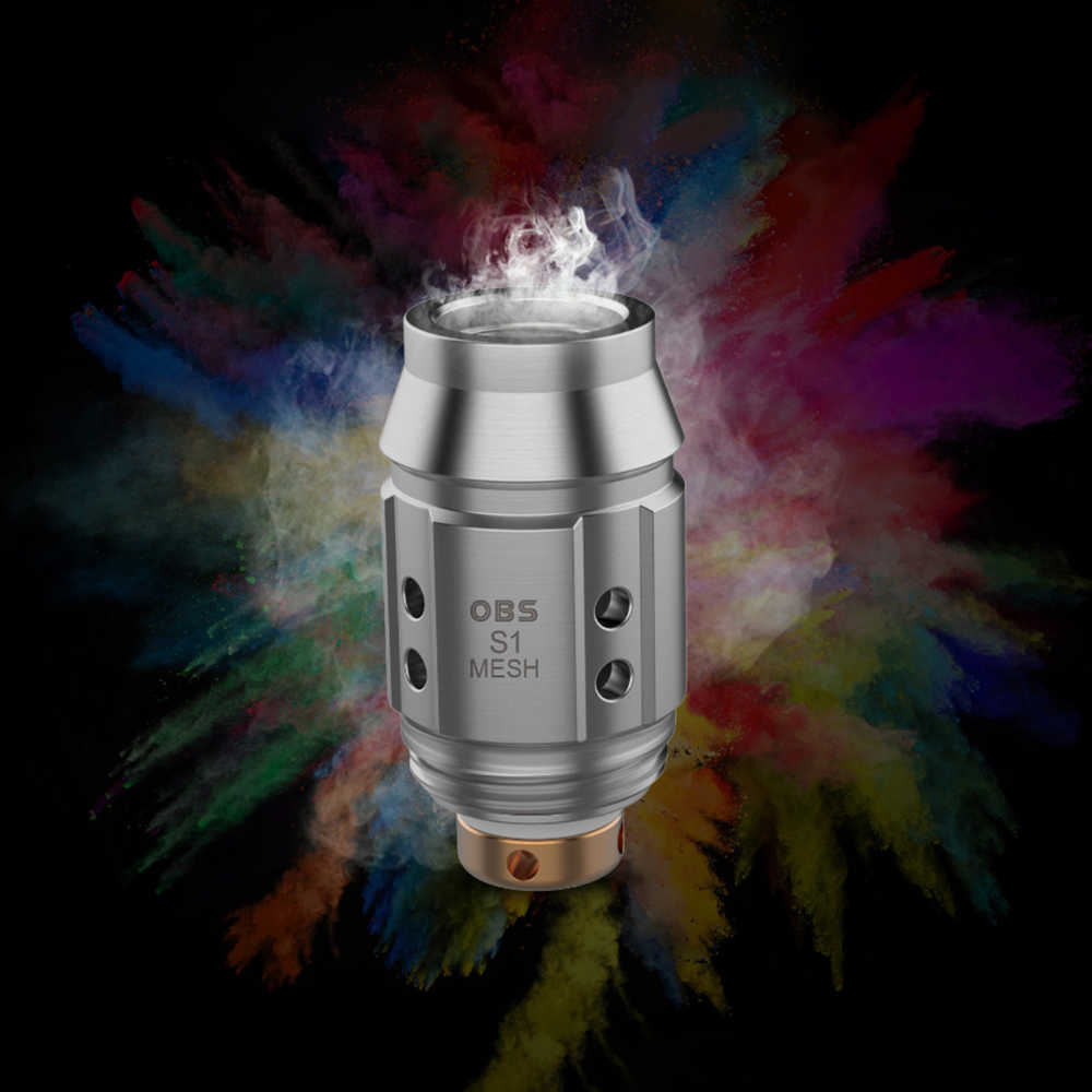 Новый оригинальный obs Куб мини комплект стартовый набор 1500 мАч буит в Батарея 2 мл/3 мл Танк 0,96 дюймов Экран MTL Е-сигарета