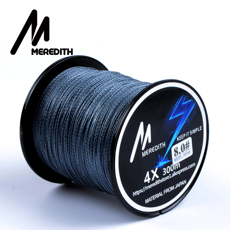 Great discount meredith 300m 10lb 80lb braided fishing for Cheap braided fishing line