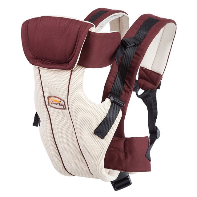 Multipurpose Breathable Adjustable Buckle Cotton Infant Babies Carrier High Quality 20KG 4 Carriers Type Cotton Baby Carrier