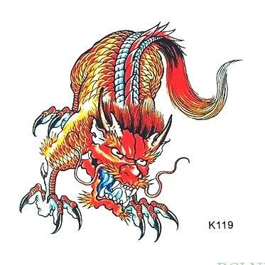 Waterproof Temporary Tattoo Sticker Chinese dragon myth totem tatto stickers flash tatoo fake tattoos for men women
