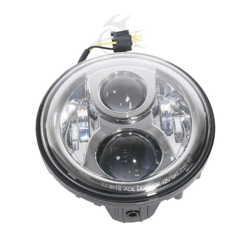 Motorcycle 7 LED Daymaker Headlight For Honda CB400 CB500 CB1300 Hornet 250 600 900 VTR